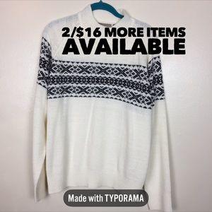 2/$16 TanJay | Oversize Turtle Neck Sweater